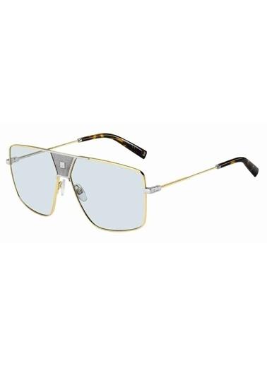 Givenchy Givenchy Gv 7162/S 83I 63 Ekartman Erkek Güneş Gözlüğü Altın